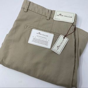 Peter Millar Soft Touch Twill Pima Cotton Shorts